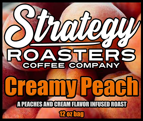 Creamy Peach, A Peaches and Cream flavored Roast