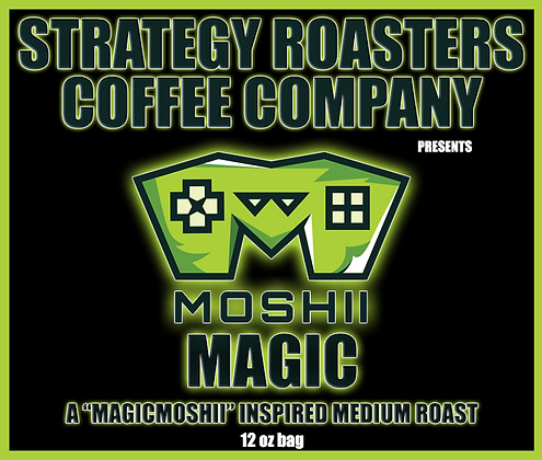 Moshii Magic, A MagicMoshii Inspired Medium Roast