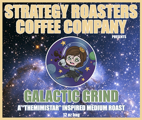 Galactic Grind, A TheMimiStar Inspired Medium Roast