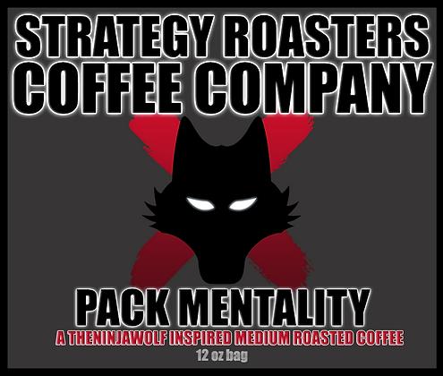 Pack Mentality, A TheNinjaWolf Inspired Medium Roast
