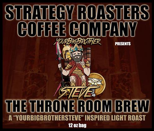 The Throne Room Brew, A YourBigBrotherSteve Inspired Light Roast