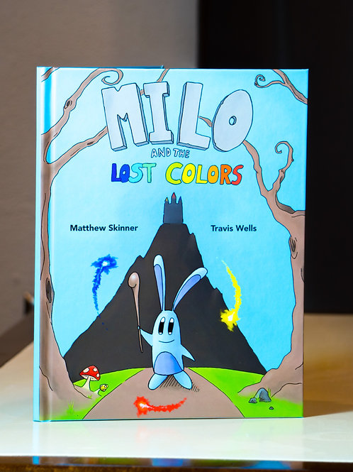 Milo and the Lost Colors - Hardcover