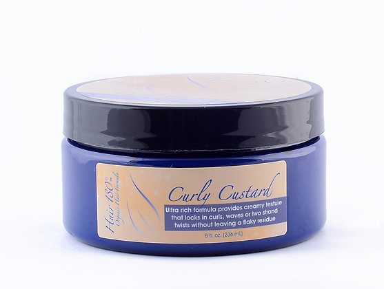 Curly Custard 8oz (Textured  Hair)