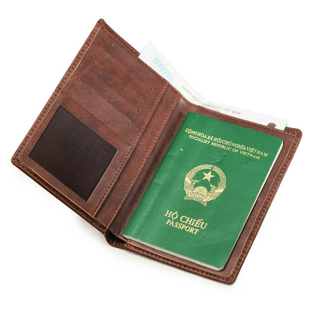 sản xuất ví đựng passport 02