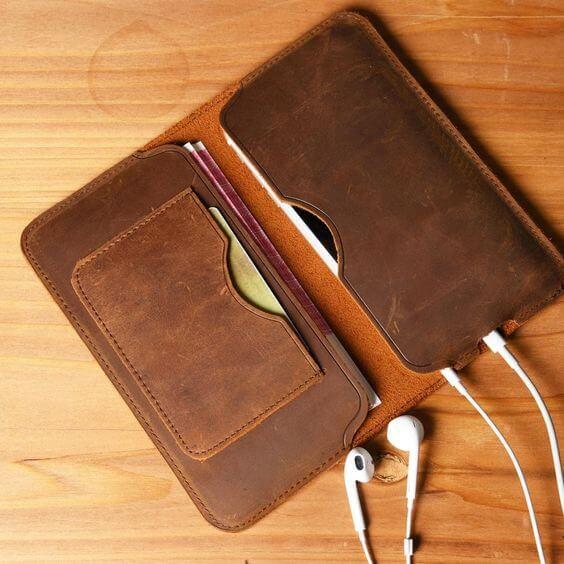 một số mẫu bao da điện thoại đẹp được sản xuất tại các cơ sở - mẫu 13