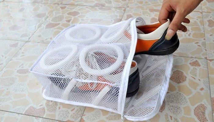túi giặt đựng giày