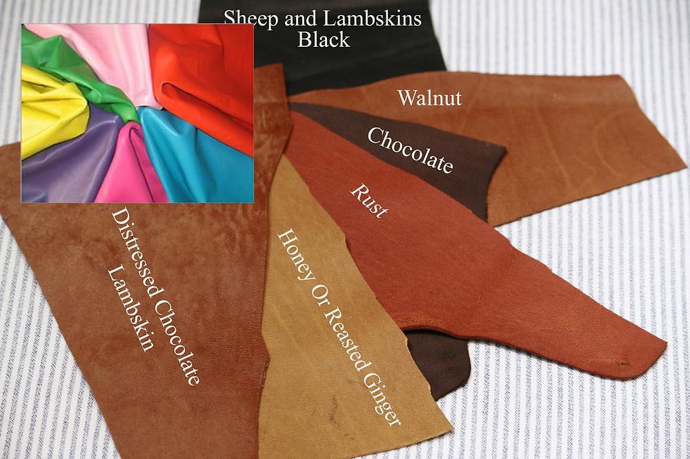 da cừu - chất liệu thường dùng tại các công ty may túi da thủ công