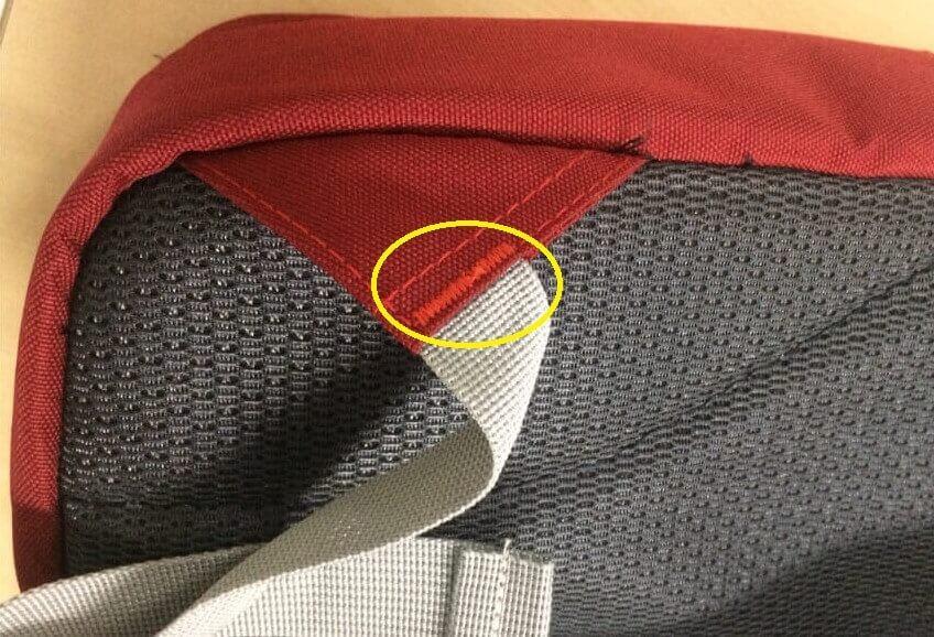 Sản phẩm đánh bọ ở vị trí chịu lực giúp sản phẩm dùng trong thời gian rất lâu mà không hư