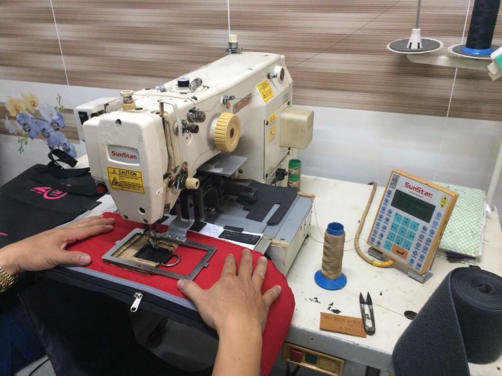 Máy lập trình – chiếc máy không thể thiếu khi may những sản phẩm bền, chịu lực cao như hàng xuất