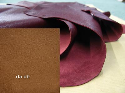 da dê - chất liệu may tại công ty chuyên may túi da thủ công