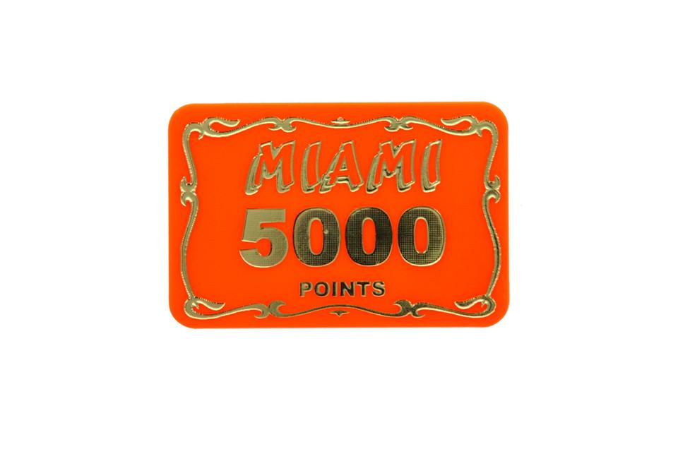 Rectangular funfair points