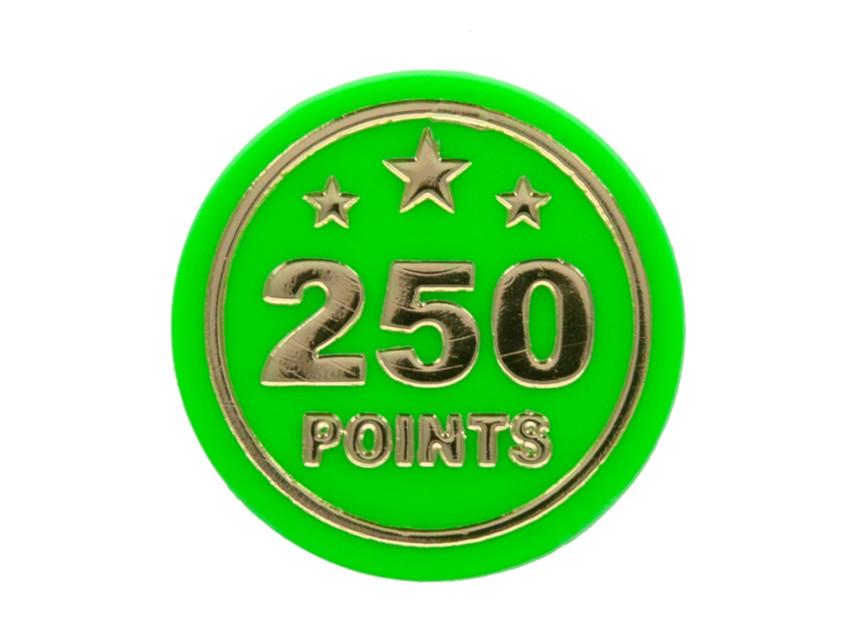 Round funfair points