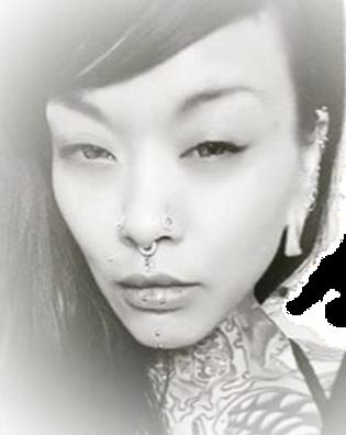 Ms. Dee, Frank Lopez, Merx TDK, Five and Dime Tattoo, Miss Dee, piercing, Oakland, 510tattoo