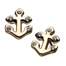 14kt-gold-threadless-anchor-with-clear-c