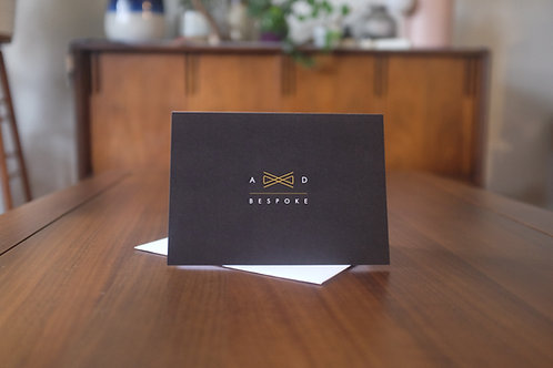 Bespoke Gift Card