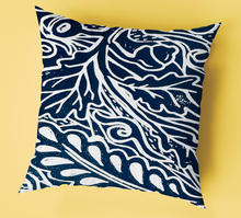 Grecian pattern pillow
