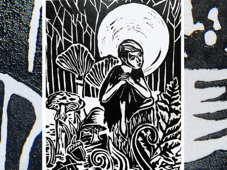 A Closer Look At Why I Love Linocut Printmaking