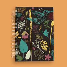Garden pattern notebook