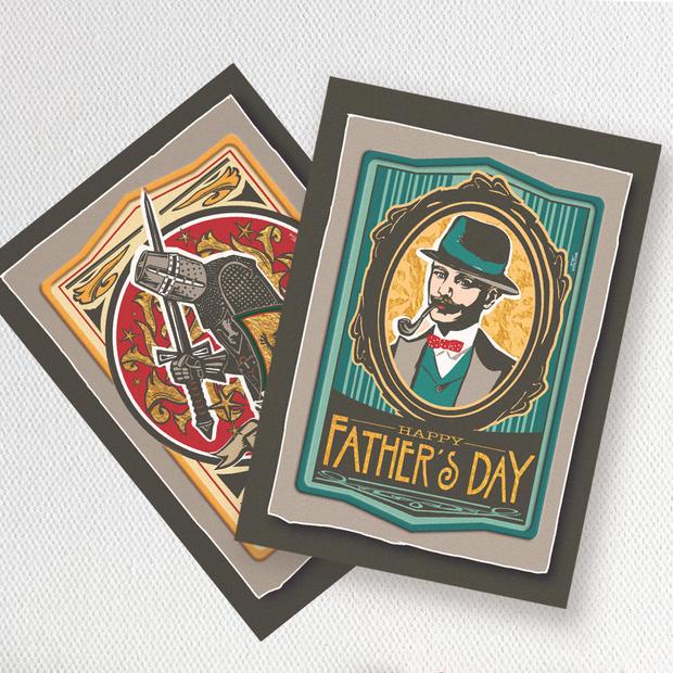 Gentleman & Knight illustrations