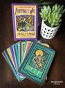 Lighting the Way Linocut Oracle Cards