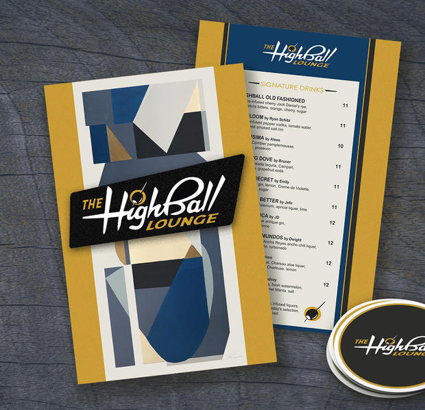 Highball Lounge branding