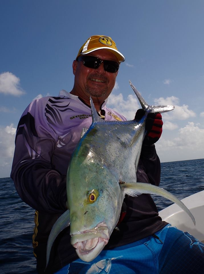 Bluefin Trevally on School Bully