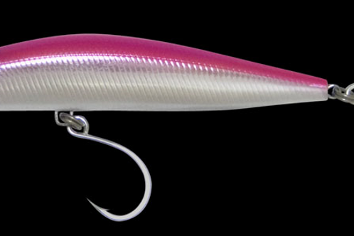 School Bully:38 gm sinking minnow , Pinkbully