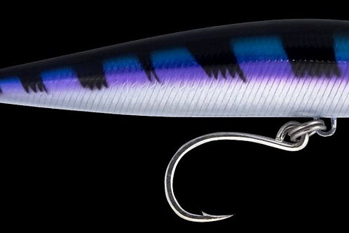 Big Bully Stickbait: Purple Pelagic