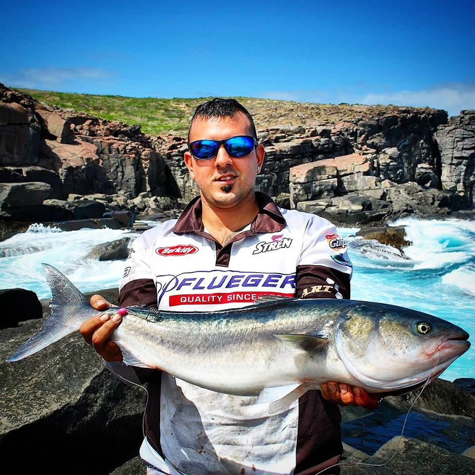 Australian Salmon: Bait sliding