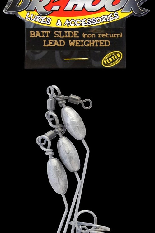 Bait Slides: lead bead (weighted) 3 pack