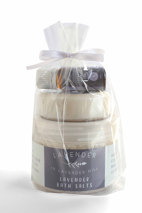 Lavender Bath Pack - R180 Save R8