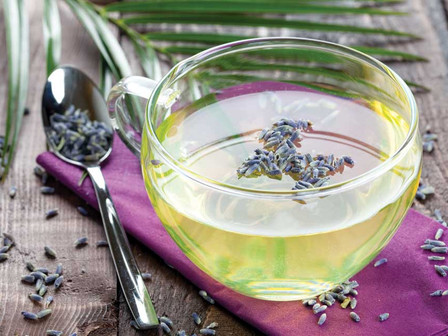 Lavender - Lemon Hot Toddy