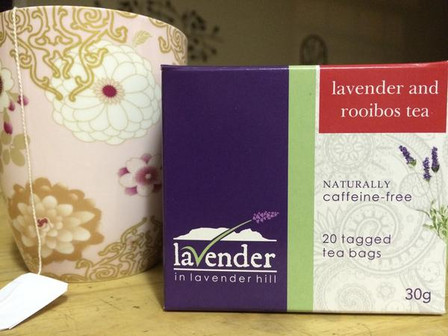 Warm up with a cup of Lavender tea this winter