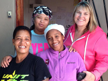 Meet Janine Roberts and the ladies from Ukama Holdings, one elementof the Lavender in Lavender Hill