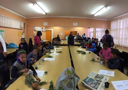 Teaching the children of Lavender Hill about Lavender