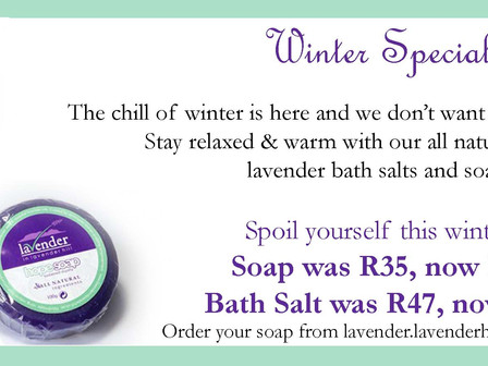 Winter specials to relax your body