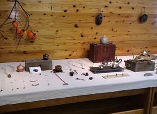 原澤幸治「彫金作品と道具展」へ