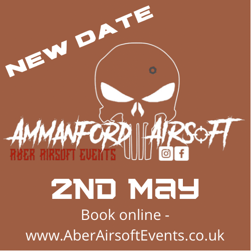 SOLD OUT Ammo Airsoft - 2nd May Deposit