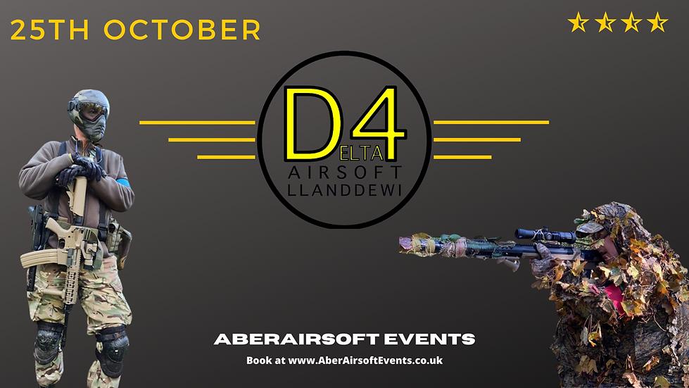 Delta4 Airsoft - 15th November