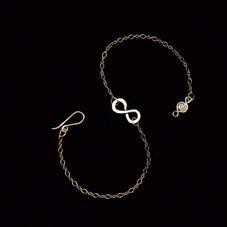 Infinity Bracelet.Anklet