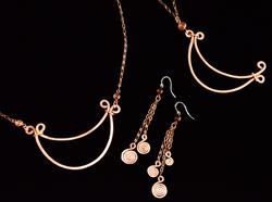 Luna Necklace & Earrings