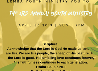 3rd Annual Youth Ministry