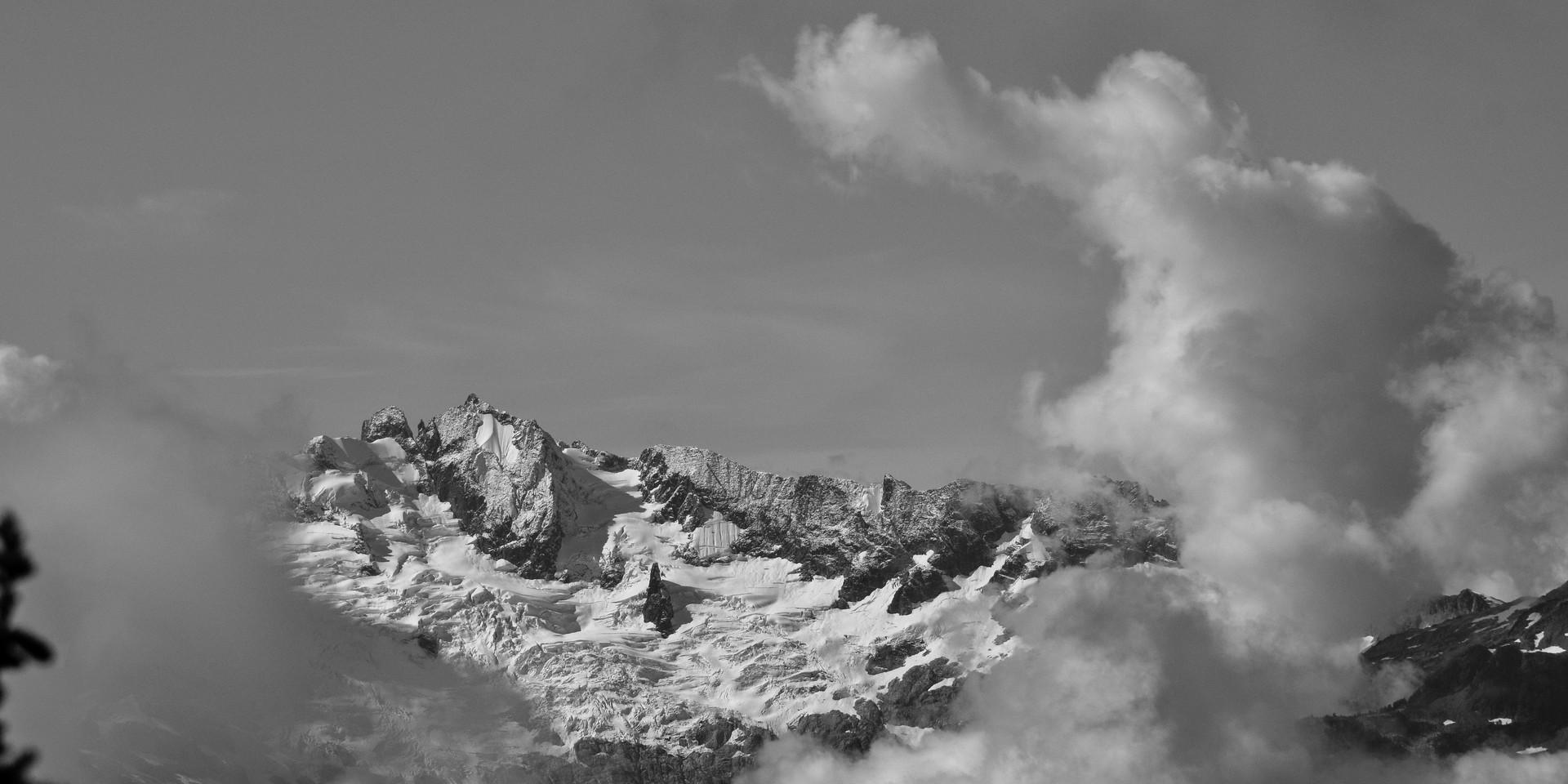 Mt. Tanatlus through the storm