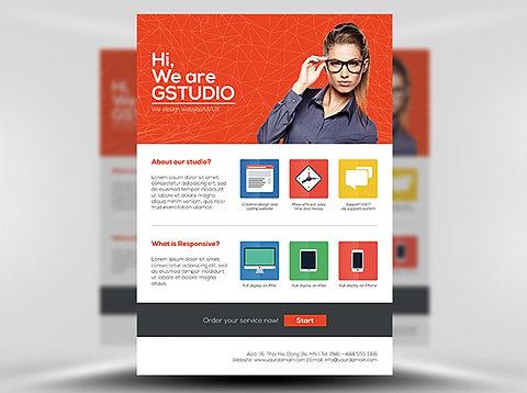 Web designer near fairview Heights Belleville St Louis Murphysboro – Web Flyer Template