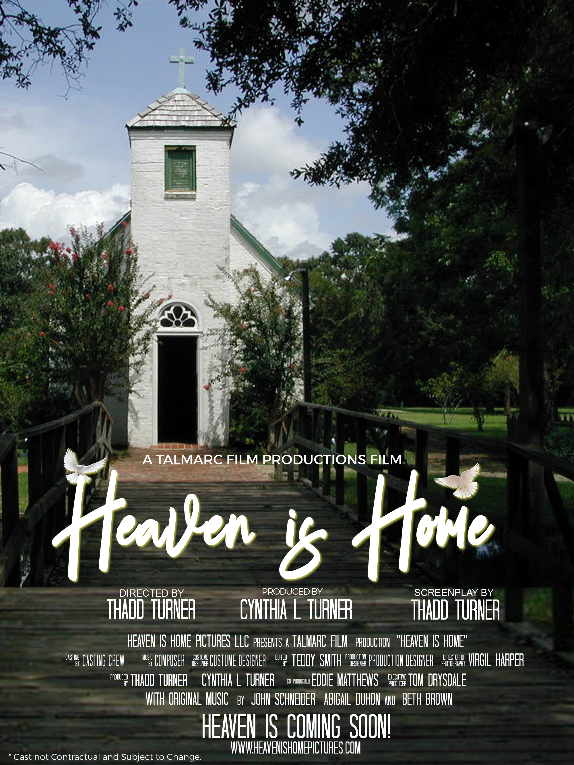 HEAVEN IS HOME Movie Poster no actors