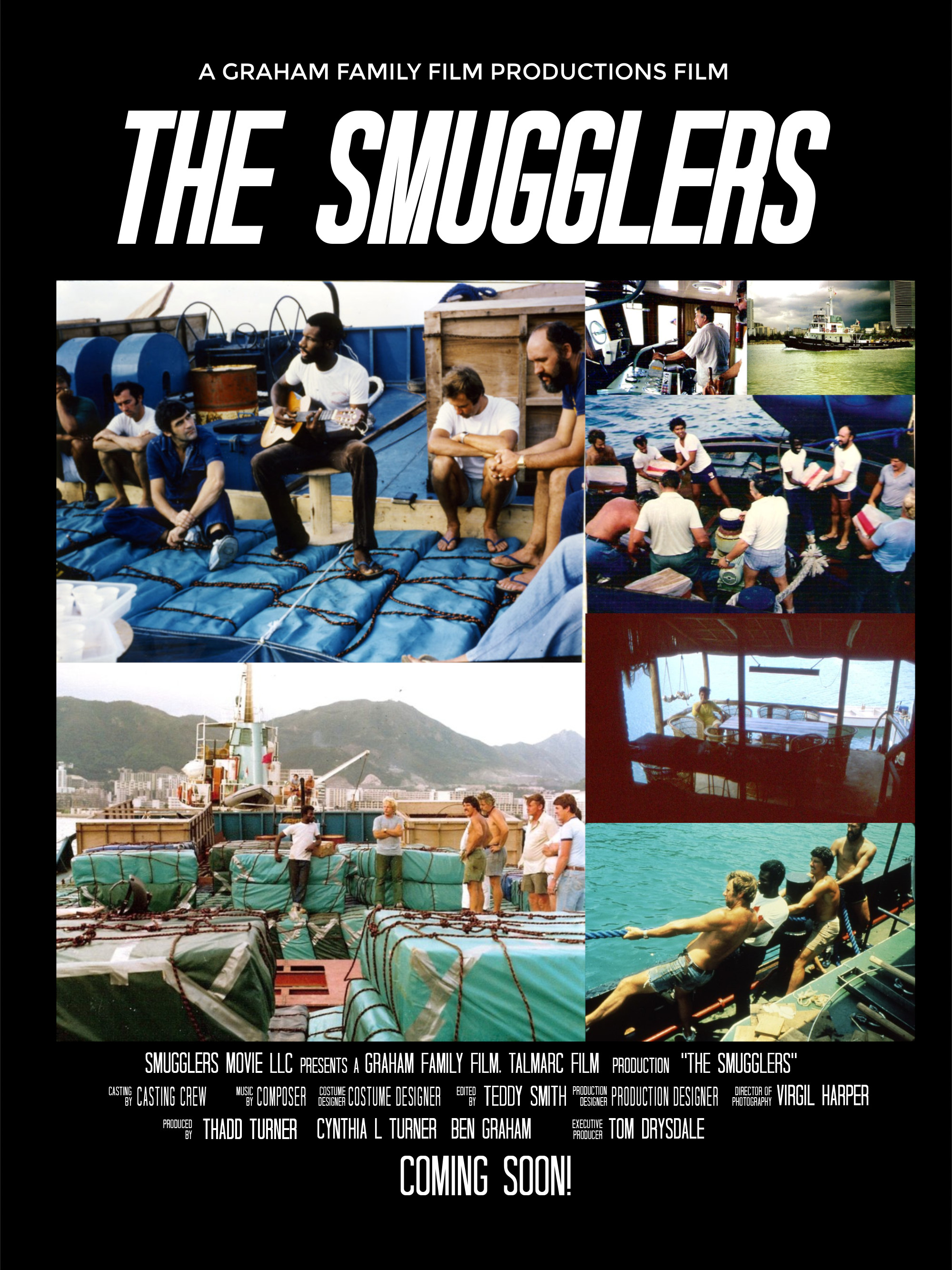 the smugglers2 Movie Poster Template