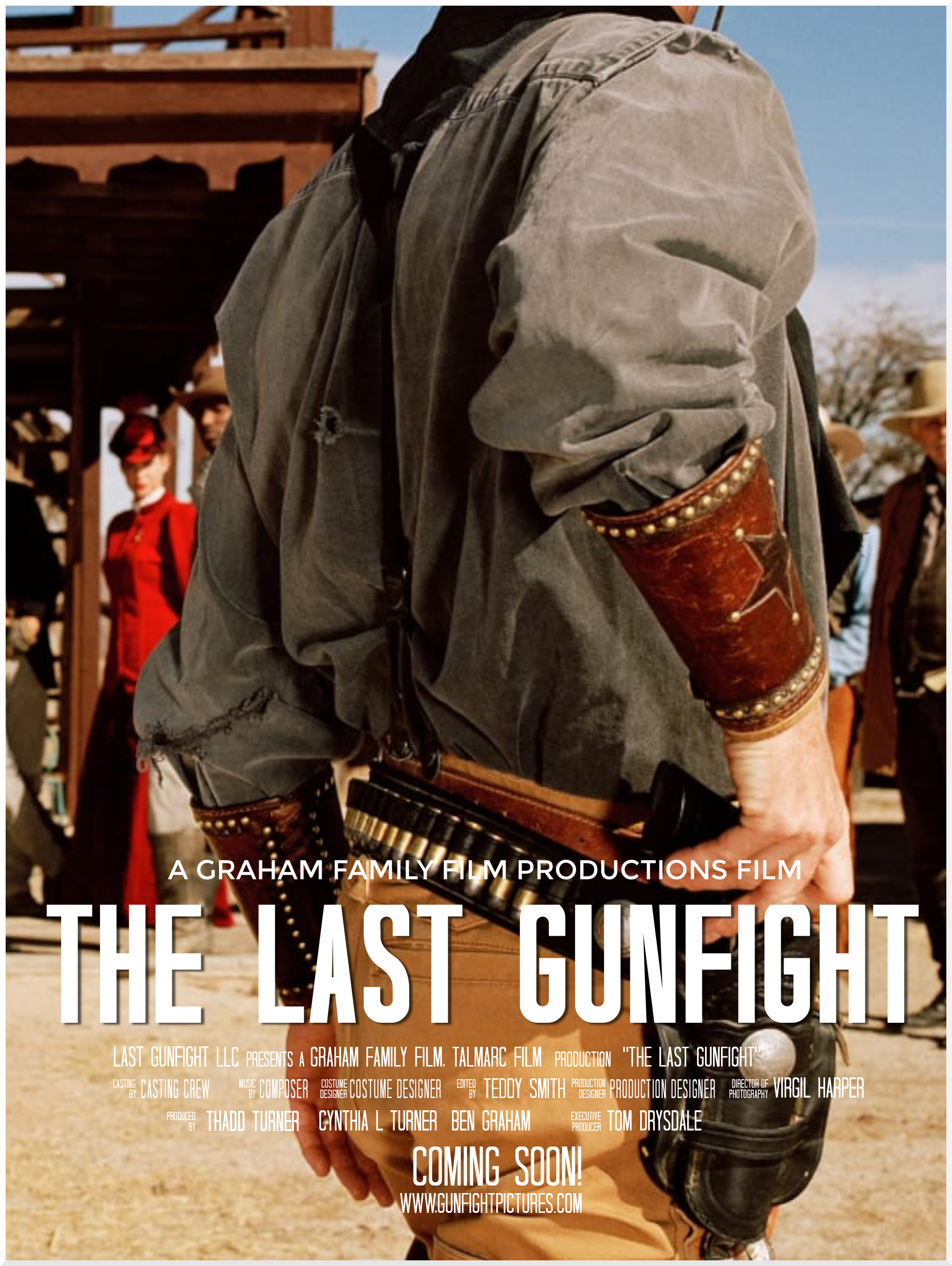 last gunfight.Movie Poster Template2
