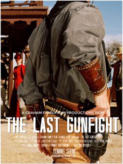 last gunfight.Movie Poster Template2