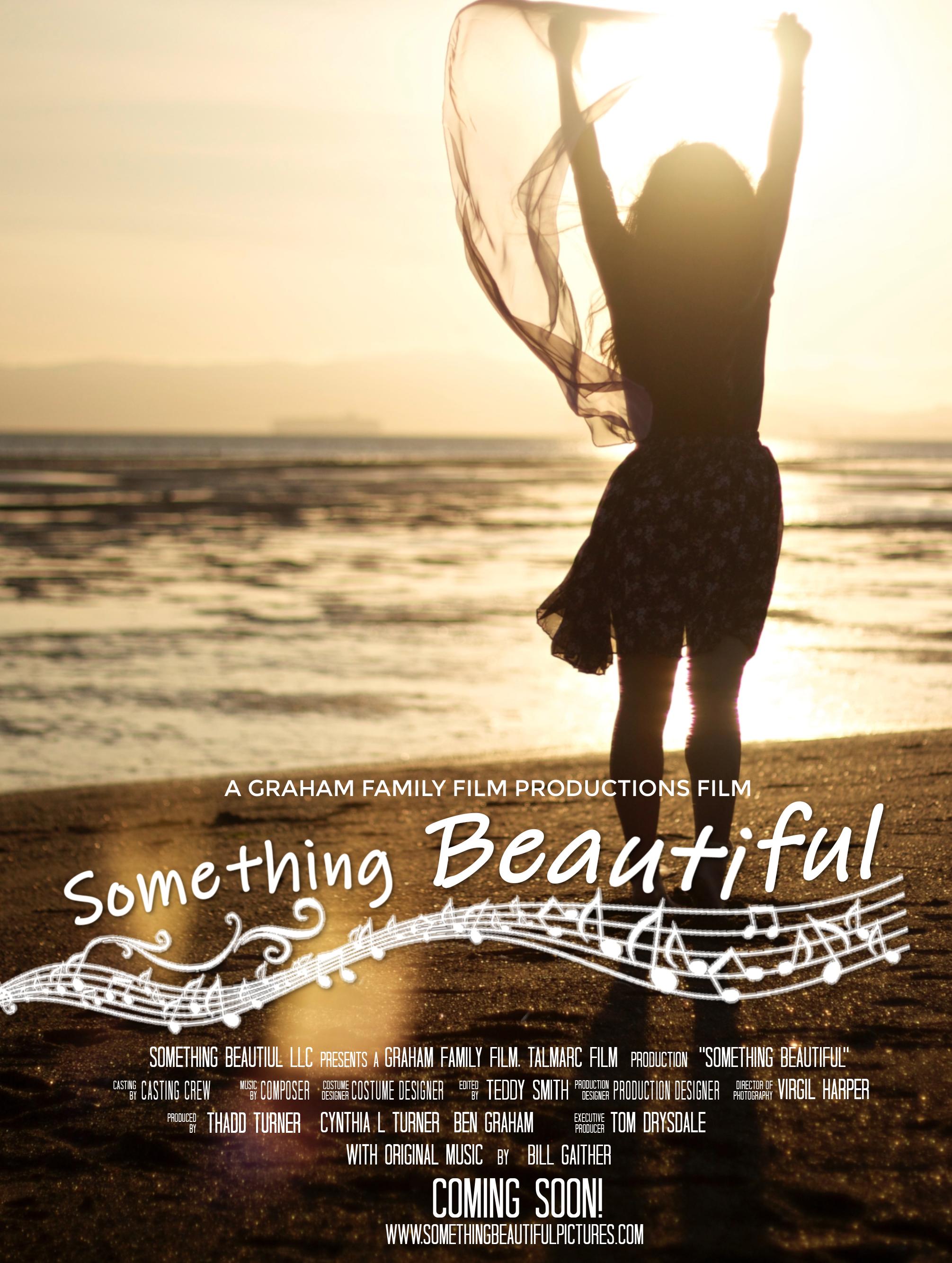 SOMETHING BEAUTIFUL Movie Poster Templat