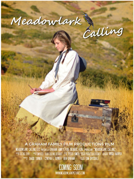 meadowlark calling.Movie Poster Template